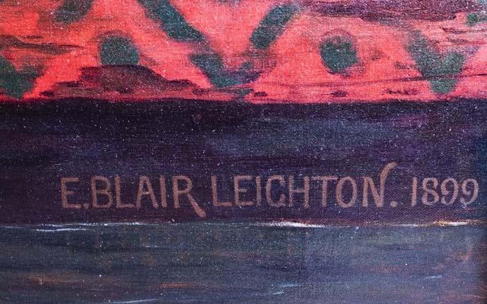 'Elaine' by Edmund Blair Leighton