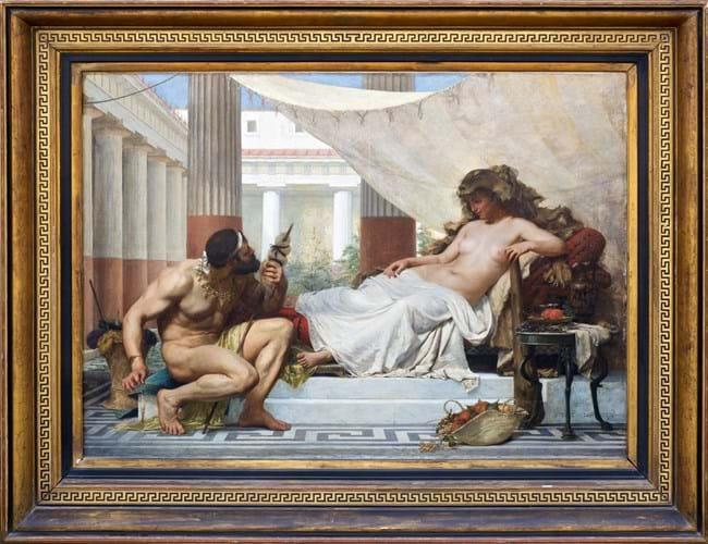 Edouard Joseph Dantan painting