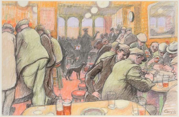 Norman Cornish pub scene