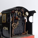Model locomotive at Charterhouse Auctions