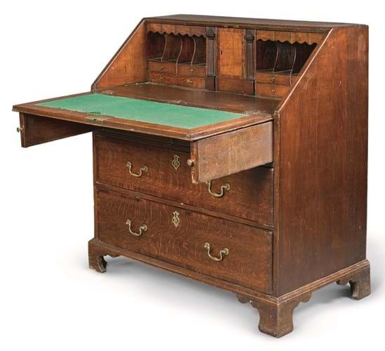 WB Yeats desk