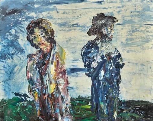 Jack Yeats painting
