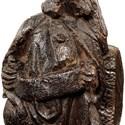 16th century oak corbel