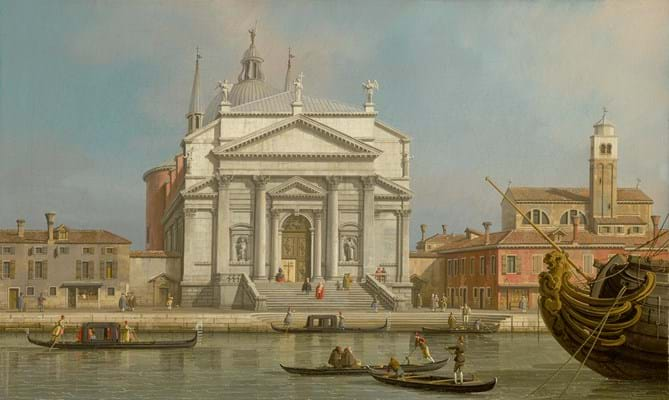 View of Venice by Canaletto