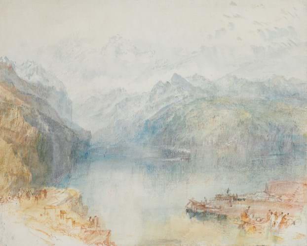 Lake Lucerne by JMW Turner