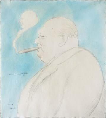 Max Beerbohm's 'Mr Churchill'