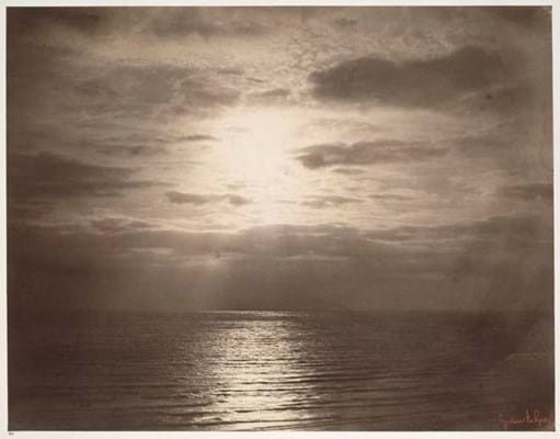 Gustave Le Gray, Seascape (1856-59), Albumen print © Victoria and Albert Museum, London.jpg