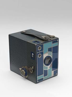 Kodak, No. 2A Beau Brownie (blue), 1930-33, Camera © The RPS Collection at the Victoria and Albert Museum, London.jpg