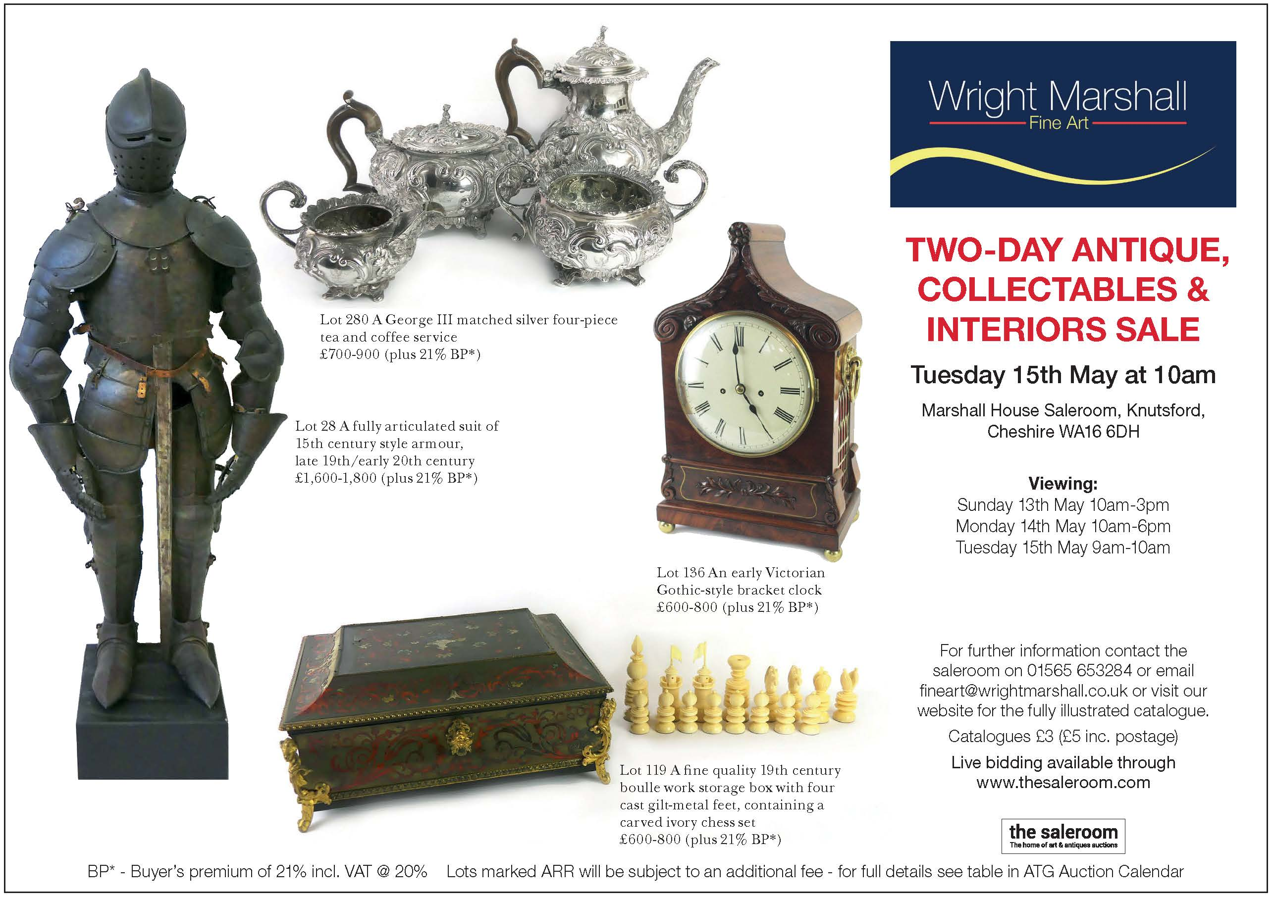 Wright Marshall- Antique, Collectables & Interiors Sale.jpg
