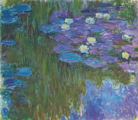 'Nymphéas en fleur' by Claude Monet
