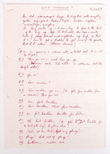 Barker script