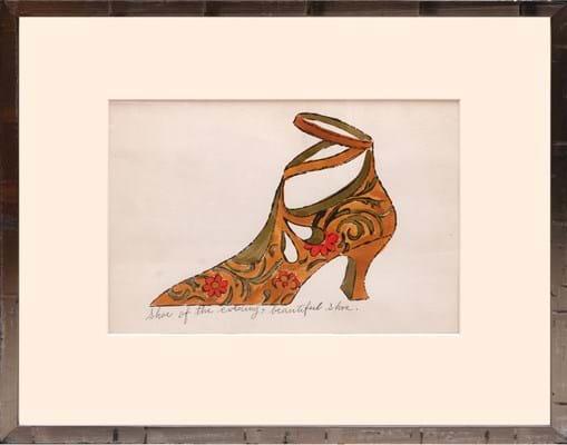 Andy Warhol - Shoe of the evening www.peterharrington.co.uk 117751_3.jpg