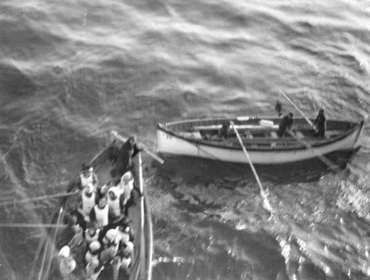 Titanic from the Carpathia