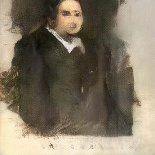 Portrait of Edmond de Belamy