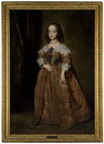 Portrait of Mary, Princess Royal by Anthony van Dyck