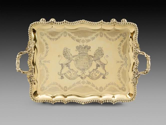 Koopman Rare Art An important George IV tray