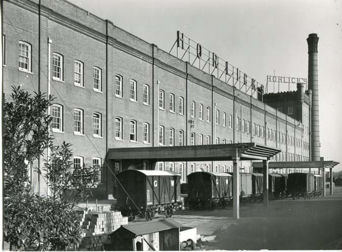 The Horlick's factory in Slough