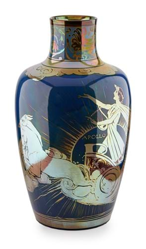 Pilkington's Lancastrian Apollo vase Gordon Forsyth