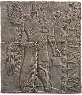 Assyrian relief Christie's