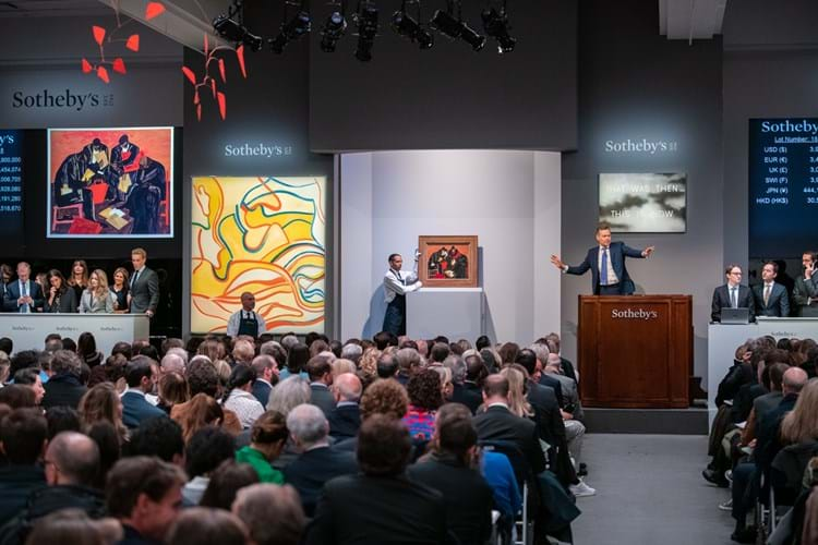 Sotheby's contemporary art evening sale