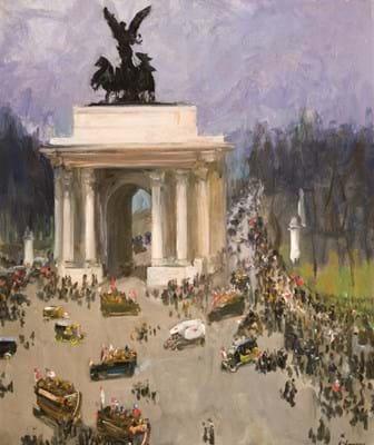 Sir John Lavery's Armistice Day