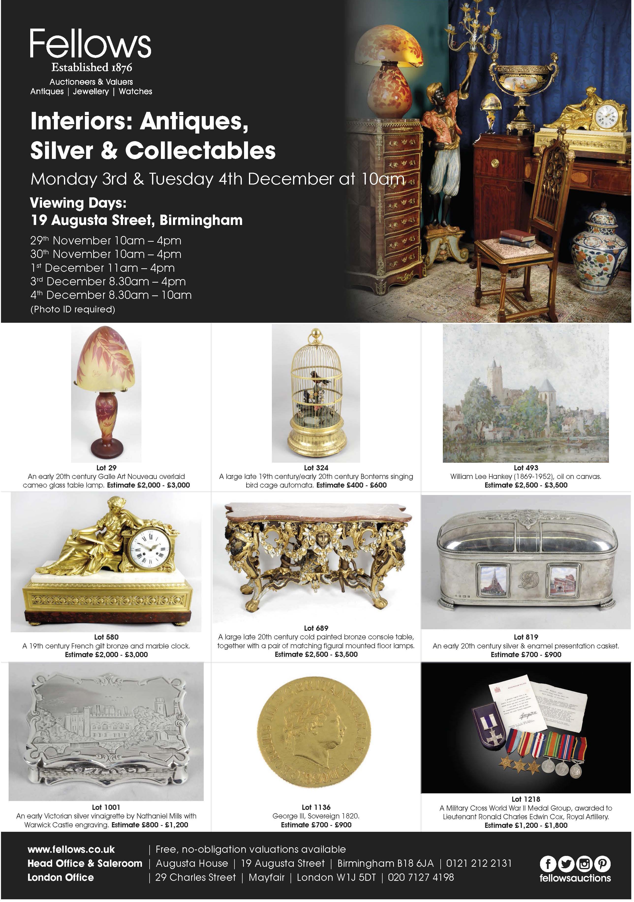 Fellows - Interiors - Antiques, Silver & Collectables.jpg