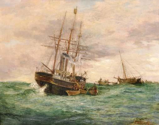 Edwin Frederick Holt (1830-1912),