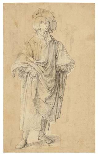 Lucas van Leyden drawing