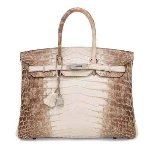 2010 Hermès Himalaya Birkin 35