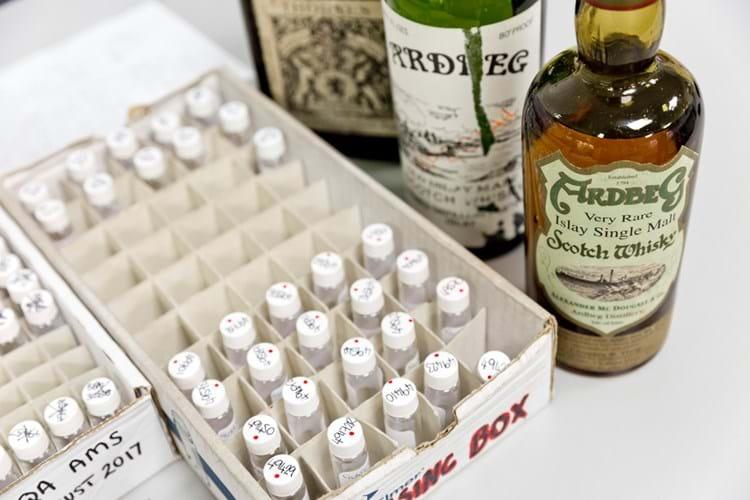 Rare whisky testing