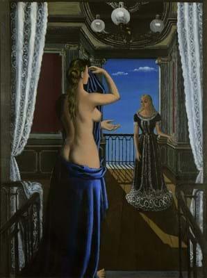 Paul Delvaux's 'Le Balcon'