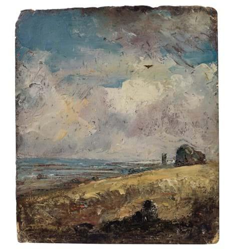 'The Skylark, Dedham' by John Constable
