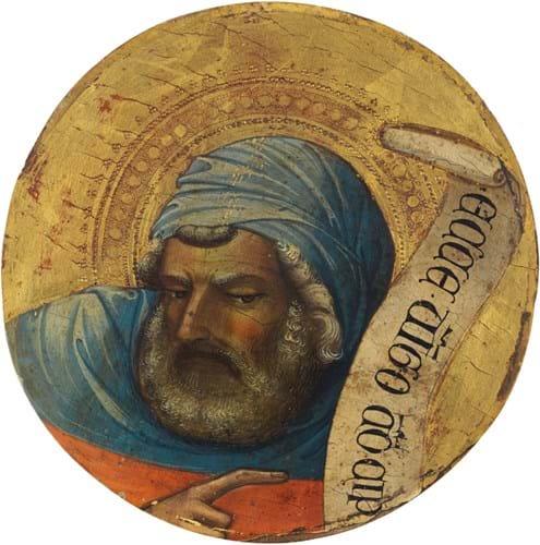 'The Prophet Isaiah' by Lorenzo Monaco