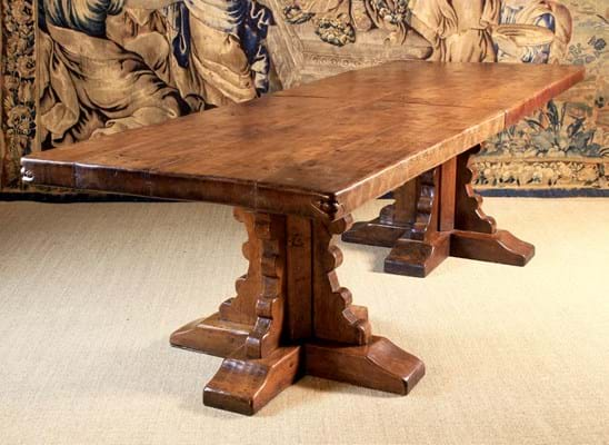 Mouseman dining table