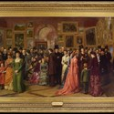 'The Private View at the Royal Academy, 1881'