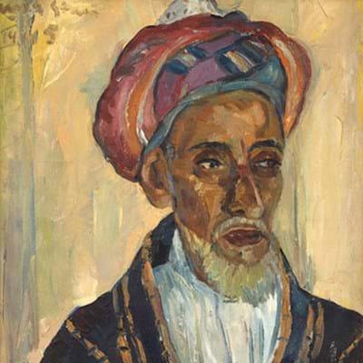 Portrait of an Arab by Irma Stern
