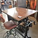 Vintage Unit draftsmans drawing board