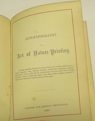 Henry Bradbury's Autotypography