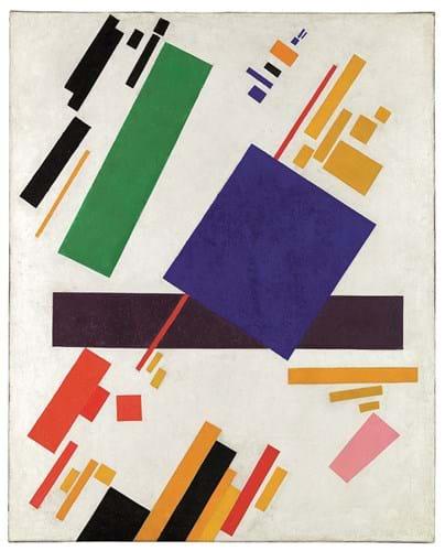 'Suprematist Composition' by Kazimir Malevich