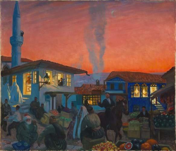 'Bakhchisarai' by Boris Kustodieva