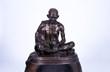 Bronze maquette of of Mahatma Gandhi by Fredda Brilliant
