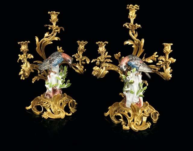 Louis XV candelabra