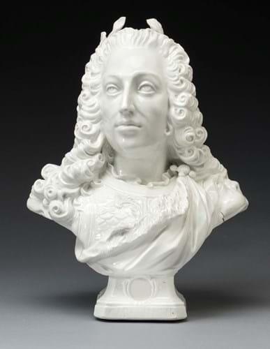 Meissen bust of Karl Albrecht, Holy Roman Emperor Charles VII