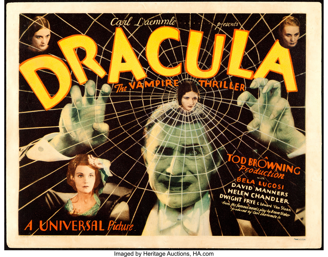 Dracula lobby cards from 1931 film taken to record high in Dallas