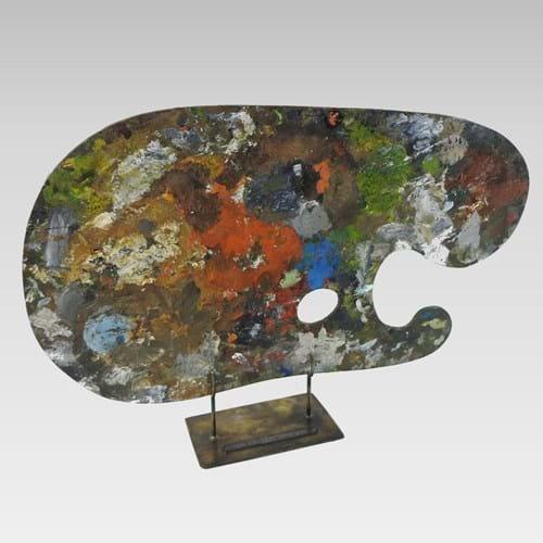 Cedric Morris palette