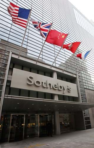 Sotheby's premises in York Avenue, New York.