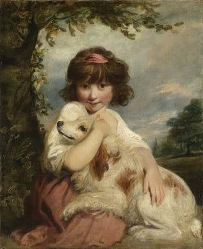 Joshua Reynolds portrait