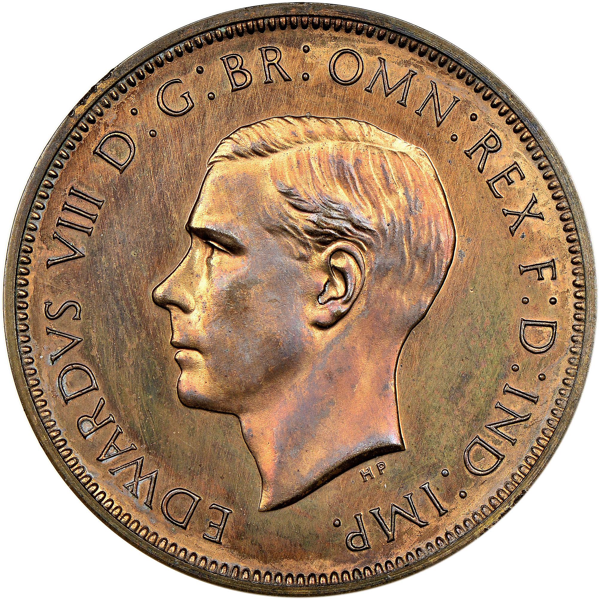 1937 UK Great Britain Penny