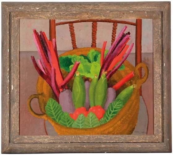 Cedric Morris painting