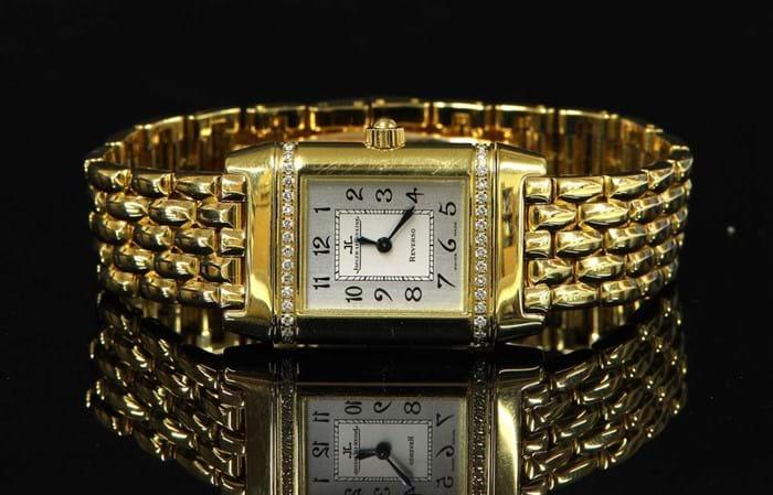 Jaeger-LeCoultre Reverso quartz bracelet watch